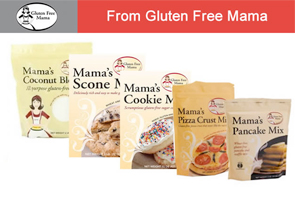 gluten-free baked foods