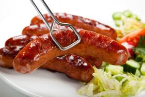 gluten free sausages and bacon