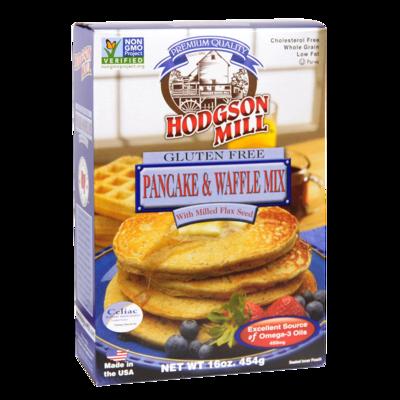 gluten-free pancake waffle mix with flax seed