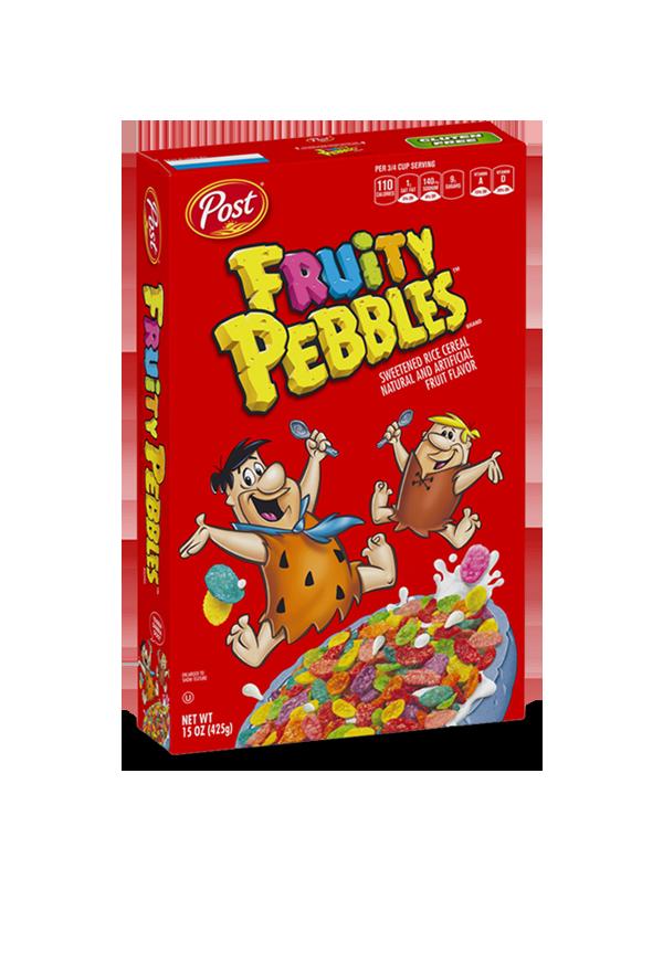 Fruity Pebbles box
